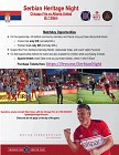 Serbian Heritage Night for Chicago Fire - May 2018